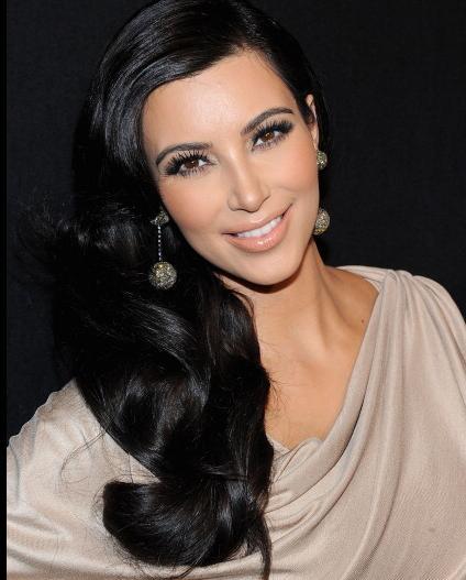 Hustler Kim Kardashian
