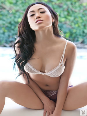 playboy asian model kitty lee