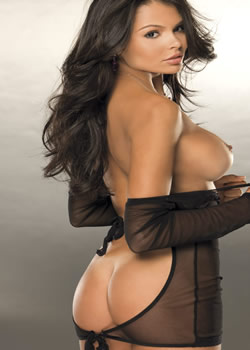 playboy playmate radiant brazilian model alana campos shows ass out