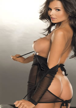 playboy latina alana campos struts her fine brazilian behind as playboy playmate of the month