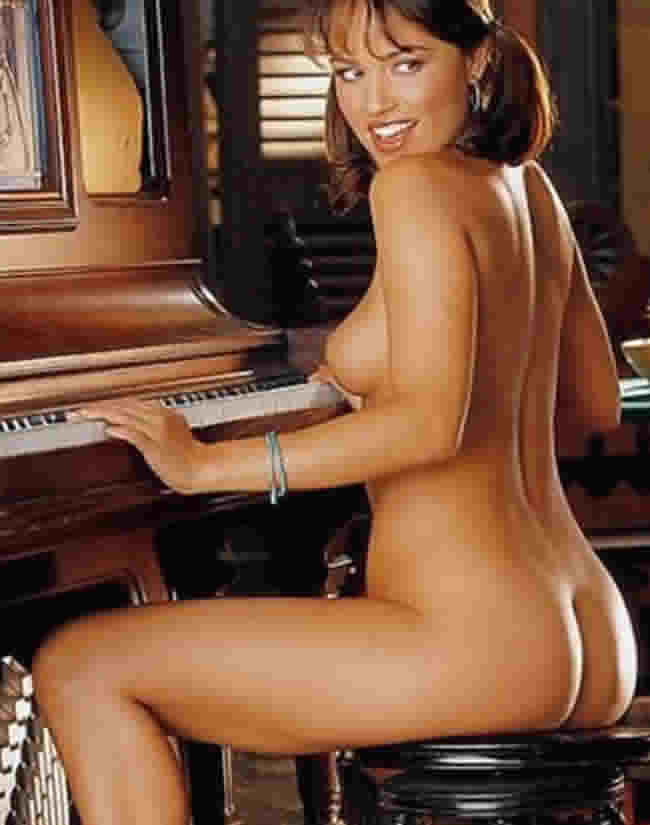 playboy playmates miss november 2004 cara zavaleta - loves to let her breasts bouce