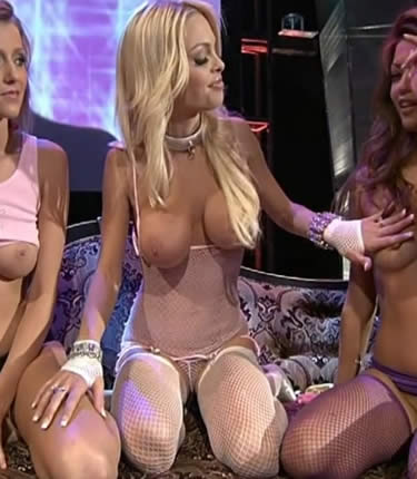 jesse jane blonde nude model