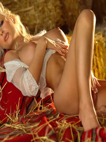 Playboy  Playmate miss april 2001 katie lohmann - extreme beauty beyond just  blonde