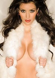 kim kardashian naked playboy photos