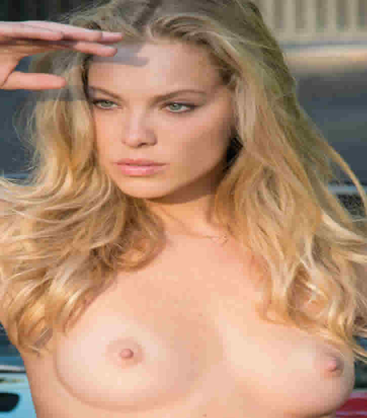 kristy garrett blonde nude model