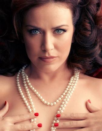 amc's mad men actress crista fllanagan nude for playboy mad men tribute