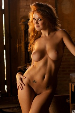 playboy cybergirl of the week finds leanna decker nude model with the honors