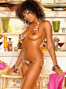 quiana chase sexy black playboy playmate of 2005