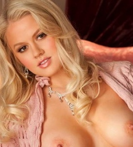 anna sophia berglund is a beautiful busty blonde nude model and playboy playmate