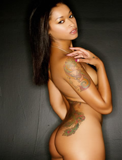 black babe skin diamond nude
