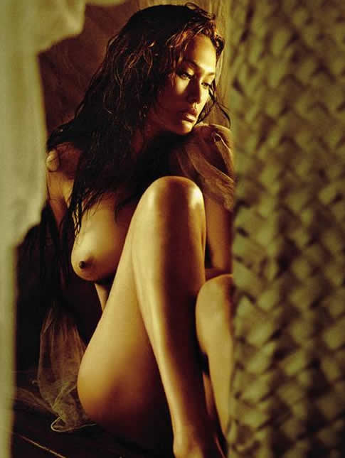 celebrity apprentice star & playboy asian nude model tia carrere