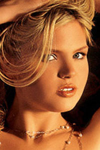 playboy playmate miss september 2005 vanessa hoelsher - blonde locks buxom beauty