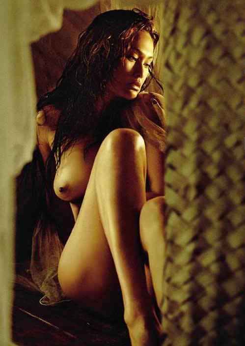 Tia Carrere Nude Playboy